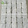 G302 Natural Granite Cube Stone/Tumbled Outdoor Driveway Cobble Stone Outdoor Paving