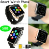 Fashion Smart Watch Mobile Phone with SIM Card Slot (S88)