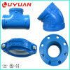 FM/UL/Ce Ductile Iron Grooved Fittings for Fire Fighting System