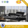 Modern Europe Design Steel Metal Leather Waiting Office Sofa (HX-8N2279)