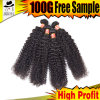 Brazilian Hair of 100% Human Hair with Curly Weave