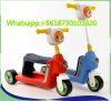 Red and Blue Color Plastic Kids Toy E-Scooter Mini Scooter