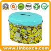 Gift Packaging Tin Coin Bank Metal Money Box for Saving