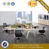 Black Walnut Melamine MDF Executive Office Table (HX-8N2311)