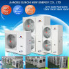 Home Using 220V Max 60deg. C, Cop4.2 R410A 3kw 150L, 5kw 260L, 7kw 300L Heat Pump Mini Split Tankless (CE, TUV, Australia approved)