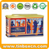 Gift Packaging Customized Cable Car Shape Chocolate Tin Box