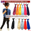 School Stationery Elastic Neck Tie Wedding Birthday Prom Ties (B8163)