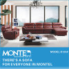 Modern Sectional Recliner Sofa, Corner Leather Sofa (K125)