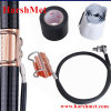 Telecommunications Infrastructure Clip on Grounding Kit for Coax Cable