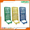 Storage Roll Cage Trolley with Four Wheels
