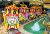 Indoor and outdoor amusement park Electric Train