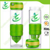 BPA-Free Glass Lemon Infusion Bottle with Circus Zinger