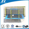 7X10ft Rectangle Trampoline with Enclosure