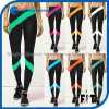 Hot Selling Women Optional Color Matching Fitness Leggings