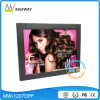 Motion Sensor 12 Inch Vintage LED Digital Photo Frame for Commercial Ads