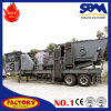 Gold Mining Equipment Mobile Rock Crushing Equipment for Sale