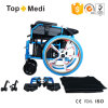 Topmedi Rehabilitation Therapy Handicapped Automatic Powered Wheelchair for Elderly