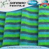 Multi Color Stripe Cotton Polyester Velvet Knitting Fabric for Childern Toy