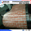 Printed Steel Coil with Brick Pattern