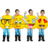 Emoji Funny Face Carnival Cartoon Party Costume for Kids (CPGC70013X)