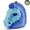Hot Selling Cool Horse Pattern Evening Bags Crystalstone Handbag Purses Leb735