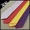Hand Made Custom Print Silk American Flag Tie for Men