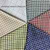 Little Houndstooth Check Wool Fabric for Overcoat