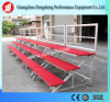 Portable Folding Stage Equipment Choral Stage with Wheels for School