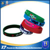 Printed & Enamel Infill Silicone Wristband in Adult & Children Sizes (W102)