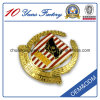 Custom Design Gold Plated Badge Pin