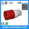 014/024 4 Pin 220V~250V IP44 Industrial Plug with CE