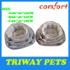 Soft Flannel Snuggle Dog Bed (WY161012A/C)