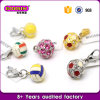 2016 Factory Wholesale Fashion Jewelry Ball Charm Pendants