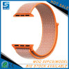 Double-Layer Nylon Hoop&Loop Watch Band Wrist Strap for Apple Watch