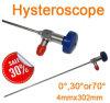 Rigid Optic Fiber Hysteroscope 4X302mm Endoscope