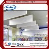 Decoration Materials Fiberglass Suspended Ceiling Panel Acousitc Baffle Ceiling