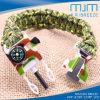 Outdoor Bracelet with Fire Stick&Whistle& Compass&Knife