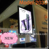LED Display Frame Double Sided Aluminum Frame Ceiling Hanging Light Box
