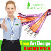 Multi-Color Custom Printing Logo Polyester Lanyard with No Minimum Order