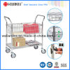 Adjustable Chrome Wire Trolley for Hospital &Drugstore (TR183636A2C)