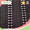 Fashion Dress Making Black and White Stripe Tricot Lace Fabric