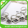 Promotional Gift Laser Logo Photo Frame Metal Keychain (SLF-MK002)