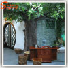 Fiber Glass Artificial Live Banyan Ficus Tree