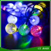 30 LED Light Solar Powered Fairy Bubble Ball String Lights Outdoor for Christmas Festival Garden Decorative Lamp