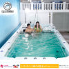 Powerful Massage Swim SPA Outdoor Swimming Pool with Jacuzzi