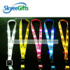 Glow in The Dark Colorful Polyester LED Lanyard for Promotional Gift