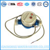 Single Jet Dry Dail Pulse Water Meter Dn20mm