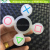 Wholesale Sillicone Glow in Dark Fidget Symbol Hand Spinner Adhd EDC Focus Anxiety Toy
