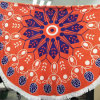 Microfiber Round Beach Throw Yoga Mat Table Cover Picnic Mat