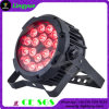 18X18W Rgbaw+UV 6in1 Outdoor LED PAR 64 Stage Light